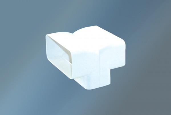 T-Anschlußstück senkrecht Ø 125mm, weiß