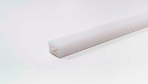 LED Leuchtenprofil 12,6x8 mm mit DKB Kst.transparent L:1800 mm