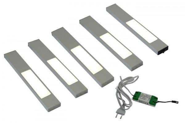LED 5er Set, davon 1 Masterleuchte inkl Kon 12VDC 15W