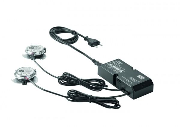 Audiosystem 2xKörperschallwandler,1Netzteil,1,5m Kabellänge