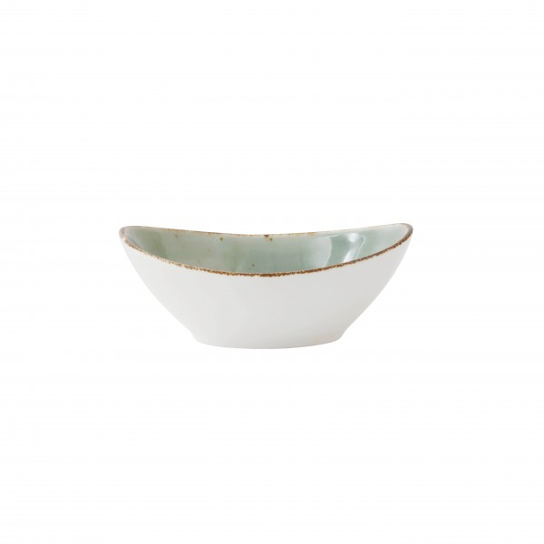 "TC Erthe Celadon Oval Bowl 8"" (20cm) 20oz"