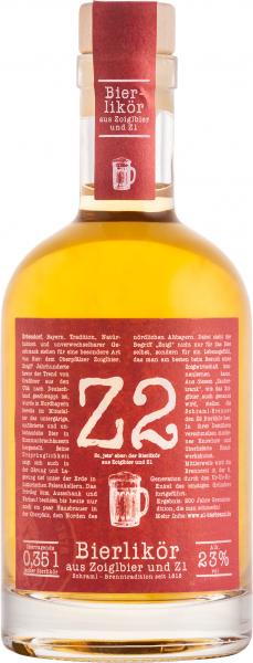 Z2 Bierlikör aus Zoiglbier & Z1 23 %vol. 0,35 L