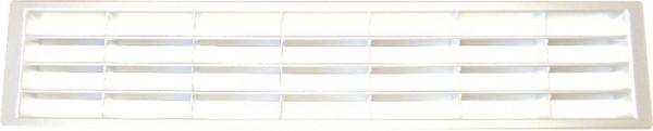 Lüftungsgitter aus Kunststoff Länge 400mm, weiß