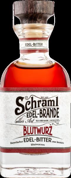 Blutwurz 40Vol%, 0,04 L- Bayerischer Edel-Bitter/ Karton mit 20 Flaschen