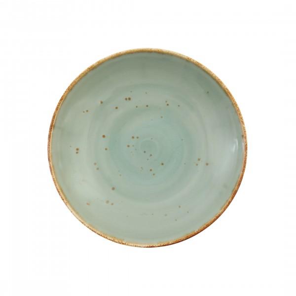 """TC Erthe Celadon Coupe Pasta Bowl 10.25"""" (26cm)"""