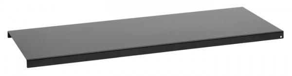 Regalboden 120 schwarz pulverbeschichtet 1158x208x16mm