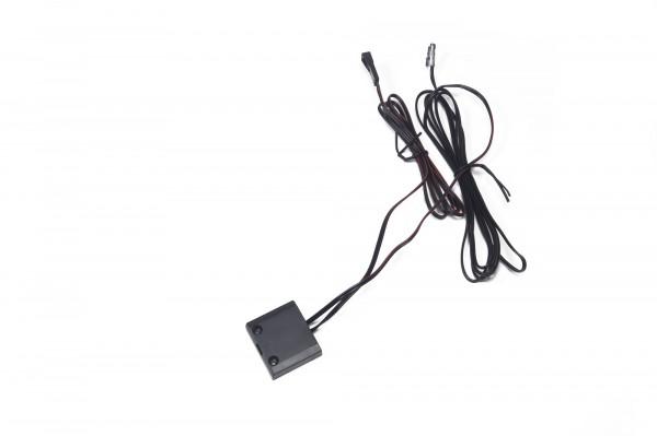 LED IR Schalter 12 V 30 Watt 2/1 m 30x34 mm aufschr. Schwarz