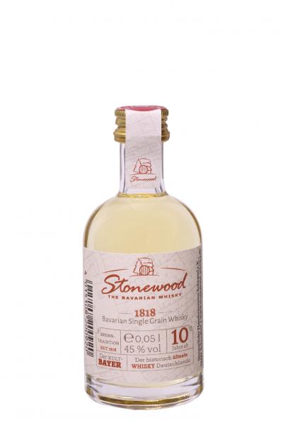 Stonewood 1818 - Single Grain Whisky -45% Vol. 0,05 L ( Karton mit 20 Flaschen)