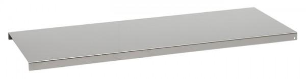 Regalboden 90 neusilber pulverbeschichtet 858x208x16mm