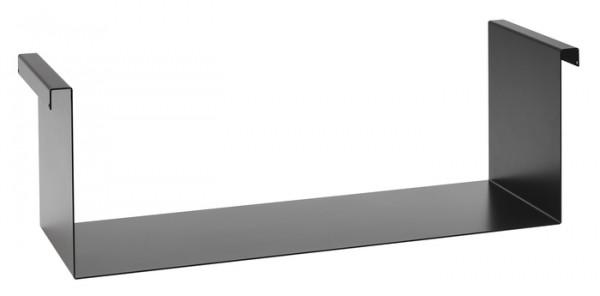 Einhängeboden 60 schwarz pulverbeschichtet 605x192x200mm