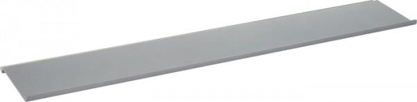 """Obere Ablage """"""""L"""""""" Linero MosaiQ, schwarz B585 x T90 x H10 graphitschwarz"""