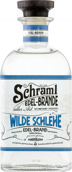 Wilde Schlehe 42 % 0,5 L- Karton mit 6 Flaschen