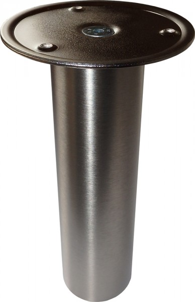 Barkonsole BKF, zum Anschrauben von Holz-/Granitplatten, Edelstahl