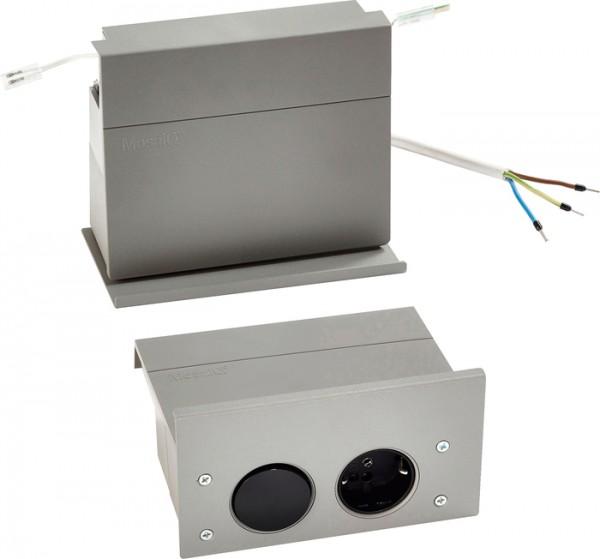 eBoxx Set Linero MosaiQ LED, grau geeignet für Deutschland, titangrau