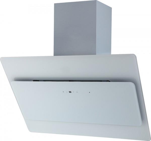 Glashaube 90cm, Weiß, incl. Schacht Touchsensor incl. FB