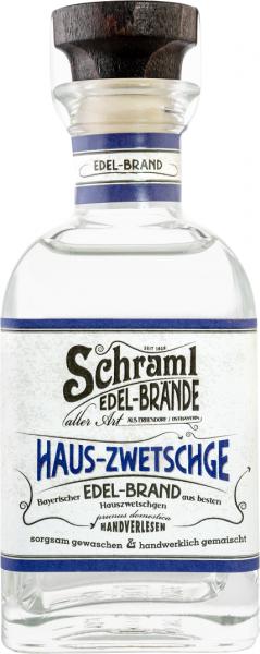 Haus-Zwetschge 42% vol. 0,1 L-Karton mit 12 Flaschen