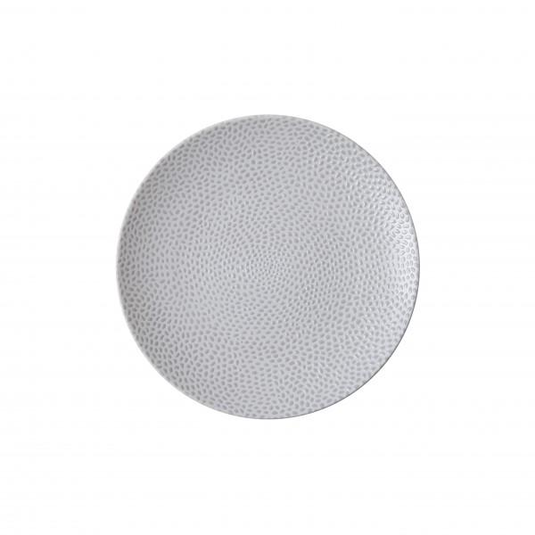 """TC Cobble Grey Matte Plate 6.5"""" (16.5cm)"""