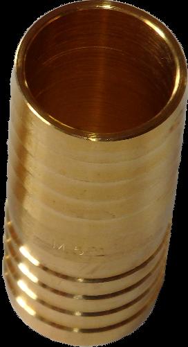 Schlauchverbindungsröhrchen 1 Zoll, Messing