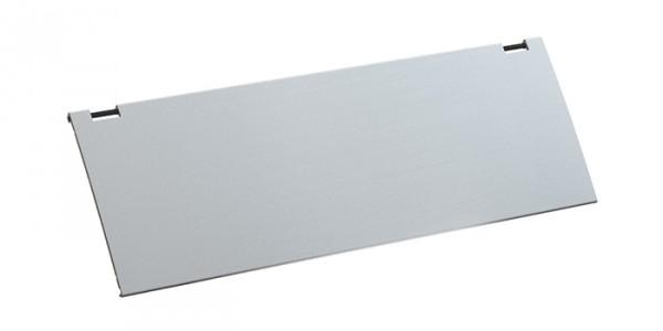 Deckel für KAPSA, ED Aus Aluminium in Edelstahl-Optik