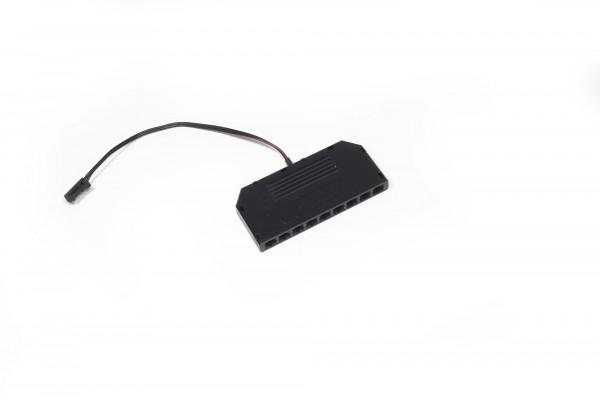 LED 9-fach Verteiler 12 V 0,14 m Zuleitung