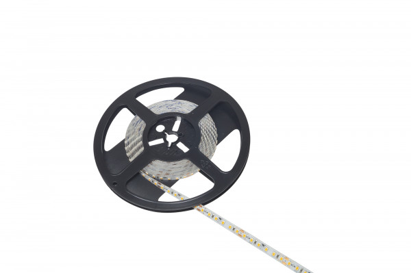 LED Band Tudo 24V 8 mm 14,4W/m 120LED/m CW 6200 K 5 m 1,8m Zul.