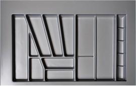 80er Besteckeinsatz Besteckkasten Besteckschublade variabel zuschneidbar
