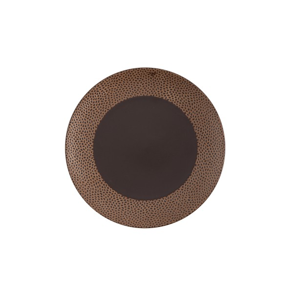 "TC Cobble Brown Matte SW Plate 10.75"" (27.5cm)"