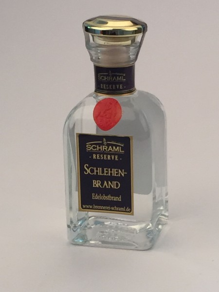 Schlehenbrand 43% vol. RESERVE 0,1