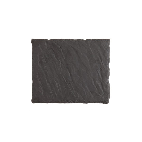 "FSW Black Slayte Rectangle Tray 10x8"" (25x20cm)"