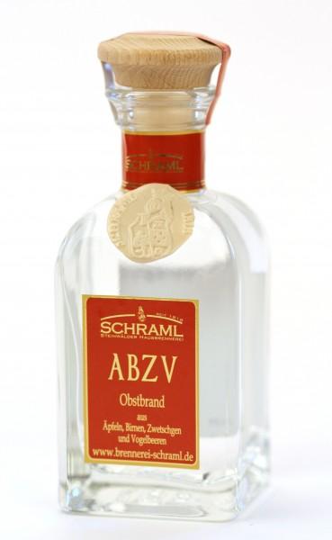 ABZV, Apfel-Birne-Zwetschge-Vogelb., 42% 0,1 L