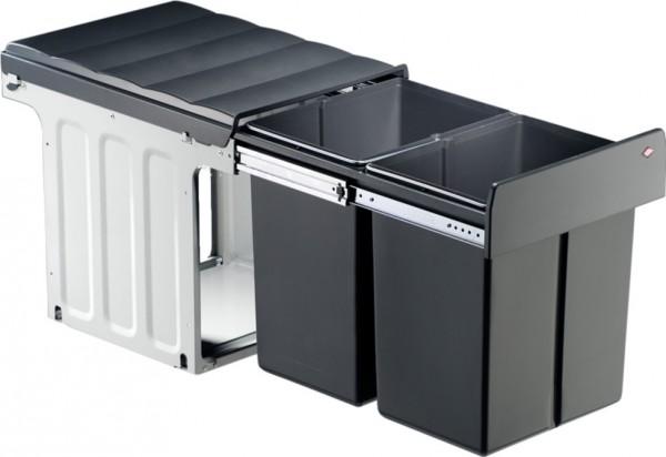 Profiline Double-Master-Maxi Einbau Abfalleimer Mülleimer 40 DT 2x20 L