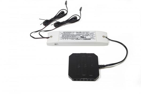 LED-Optotronic OTi Dali Dimmschalter, inkl. Leitungen, 12V, 60W,