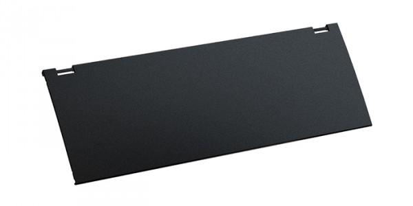 Deckel für KAPSA, schwarz Aus Aluminium, schwarz lackiert