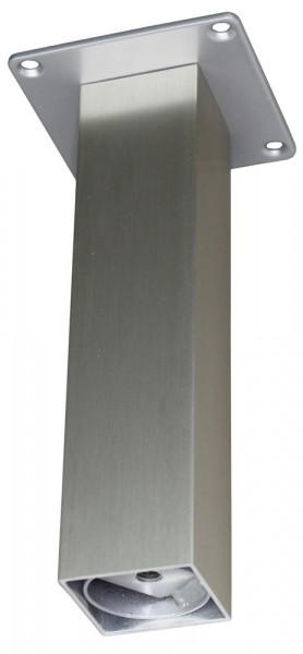 Barkonsole 50 x 50 gerade 170 mm, Edelstahloptik