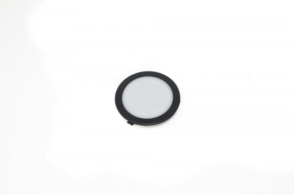 Einbauleuchte Moonlight 58 Round Emotion 12 V 3,2 W schwarz