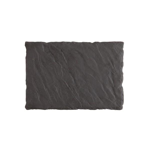 """FSW Black Slayte Rectangle Tray 11.5x8"""" (30x20cm)"""