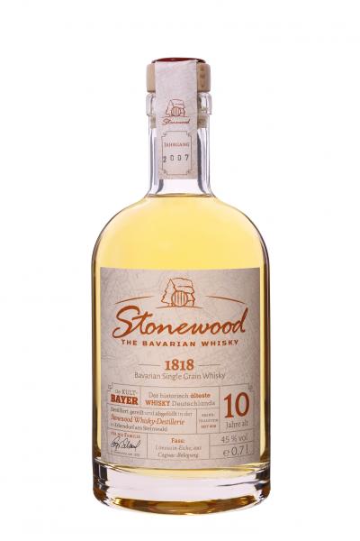 Stonewood 1818 - Single Grain Whisky -45% Vol. 0, 7 L