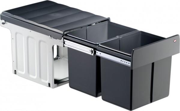 Profiline Double-Master Einbau Abfalleimer Mülleimer Abfallsammler 40 DT 2x16 L