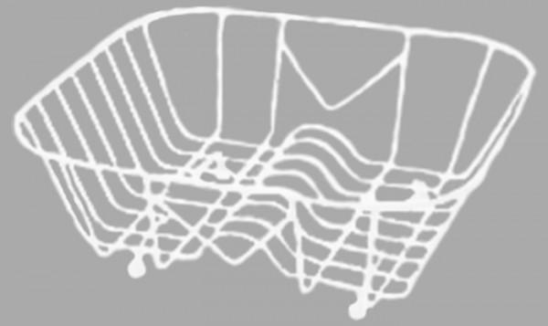 Geschirrkorb weiß passend zu E33 / ET78 / CA1