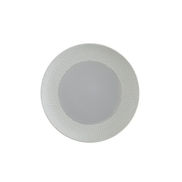 """TC Cobble Grey Matte SW Plate 10.75"""" (27.5cm)"""